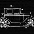 Sleigh Attachment For Motor Vehicles Support Patent Drawing From 1926 2 by Samir Hanusa