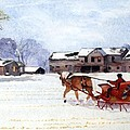 Sleigh Ride by Susan Crossman Buscho