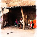 Slice Of Life Mud Oven Chulha Tandoor Indian Village Rajasthani 1b by Sue Jacobi