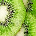 Slices Of Juicy Kiwi Fruit by G J