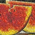 Slices Of Watermelon by Dragica  Micki Fortuna