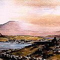 Sligo  Towards Knocknarea by Val Byrne