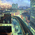 Sloan's The City From Greenwich Village by Cora Wandel