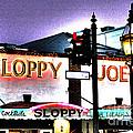Sloppy Joes Night Bar In Key West 2 by Susanne Van Hulst
