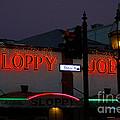 Sloppy Joes Night Bar In Key West by Susanne Van Hulst