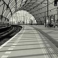 Sloterdijk Station In Amsterdam by Jolly Van der Velden