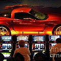 Slots Players In Vegas by John Malone