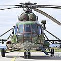 Slovakian Mi-17 With Digital Camouflage by Timm Ziegenthaler
