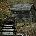 Sluice And Mill House by David Waldrop