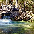 Sluice Gate At Alley Spring by Marty Koch