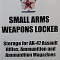 Small Arms Signage Russian Submarine by Thomas Woolworth