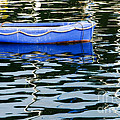 Small Blue Boat by Susie Peek