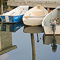 Small Boats And Dock In Port Clyde Maine by Keith Webber Jr