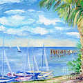 Small Boats On Water by Barbara Anna Knauf