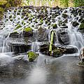 Small Cascade In Marlay Park by Semmick Photo