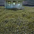 Small Cottage In Storm by Jill Battaglia
