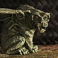 Small Gargoyle Or Grotesque by Sally Rockefeller