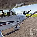 Small Plane In Private Airport by Sophie McAulay