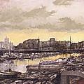 Small-port Santander by Tomas Castano