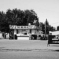 small roadside diner leader Saskatchewan Canada by Joe Fox