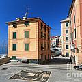 small square in Sori by Antonio Scarpi