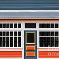 Small Store Front Entrance Colorful Wooden House by Stephan Pietzko