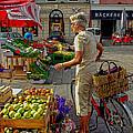 Small Town Market by Christine Czernin Morzin