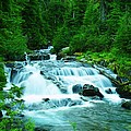 Small Waterfall On The Paradise River by Jeff Swan