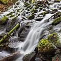 Small Waterfalls In Marlay Park by Semmick Photo