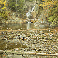 Smalls Falls In Autumn Western Maine by Keith Webber Jr