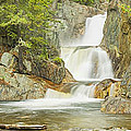 Smalls Falls In Western Maine Panorama by Keith Webber Jr