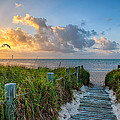 Smathers Beach Sunrise by Gene Swensen