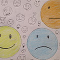 Smiley Face And Friends by David Lovins