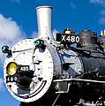 Smiling Locomotive by Sylvia Thornton