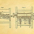 Smith Corn Sheller Patent Art 1854 by Ian Monk