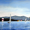 Smith Mountain Lake Regatta #4 by Shelley Koopmann