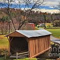 Smith River Covered Bridge by Adam Jewell