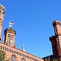 Smithsonian Castle by Lois  Ivancin Tavaf