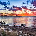 Smithville Lake Sunset by Sennie Pierson