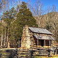 Smokey Mountain Cabin by Daniel Eskridge