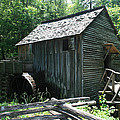 Smoky Mountain Grist Mill by Marty Fancy