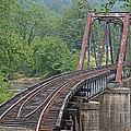 Smokey Mountain Railroad Steel Girder Bridge by John Black