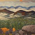 Smokey Mountain Sunset by David  Rodden