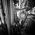 Smokin Sax by Robert McCubbin