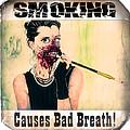 Smoking Causes Bad Breath by Robert FERD Frank