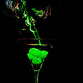 Smoking Martini by Cecil Fuselier
