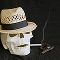 Smoking Skull  by Danny Jones