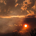 Smoky Clouds Over The Rogue Valley by Mick Anderson