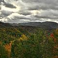 Smoky Mountain Autumn View by Shari Jardina