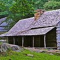 Smoky Mountain Cabins by Frozen in Time Fine Art Photography